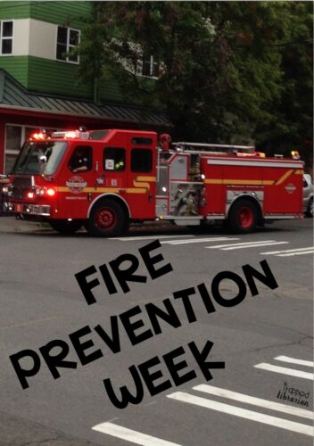 Fire Prevention Week Pin