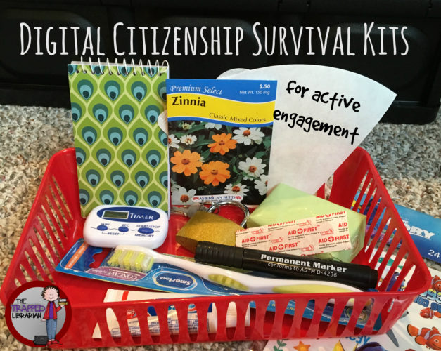 Digital Citizenship Survival Kits for Active Engagement