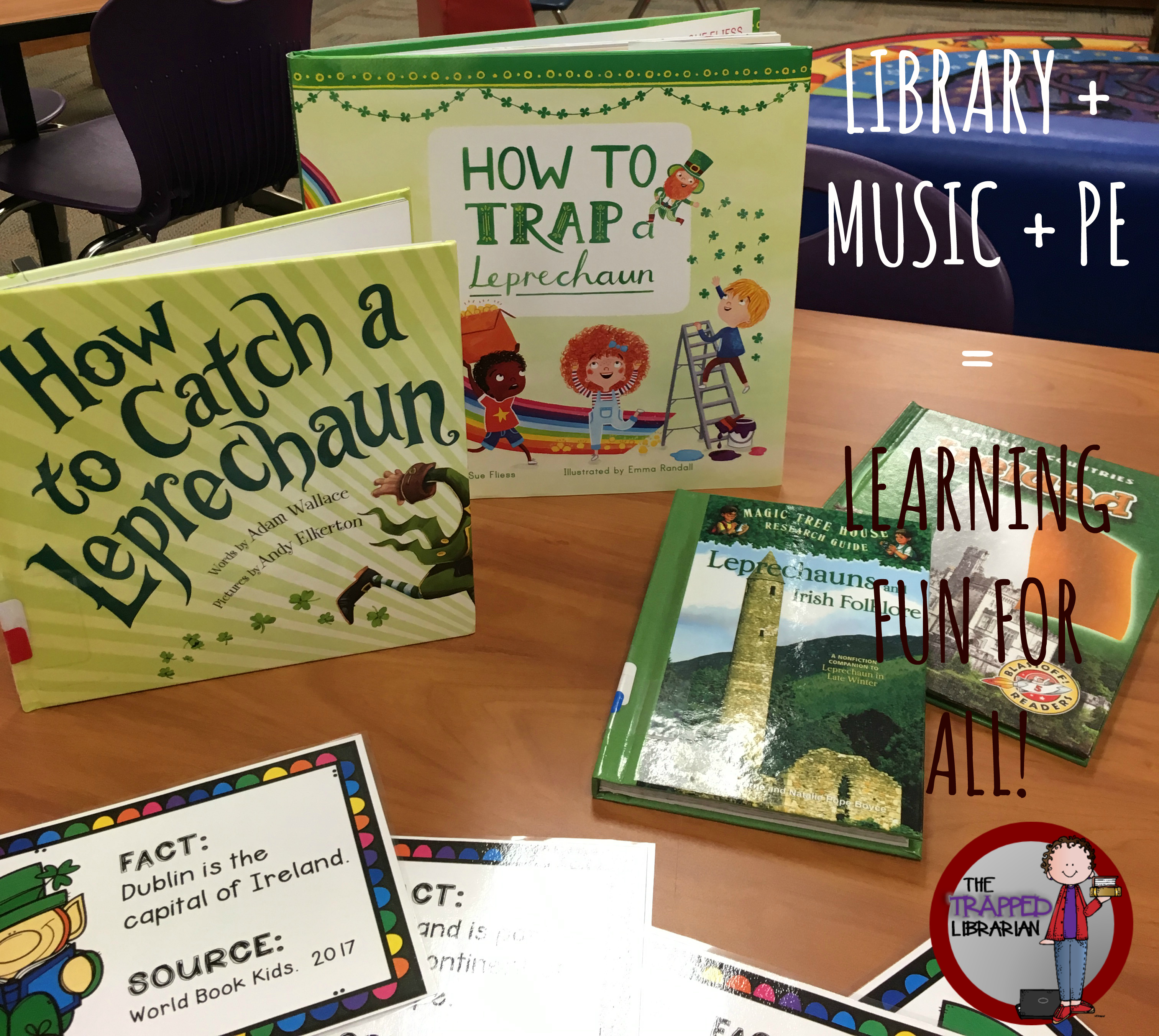 Library + Music + Physical Education = A Winning Team!