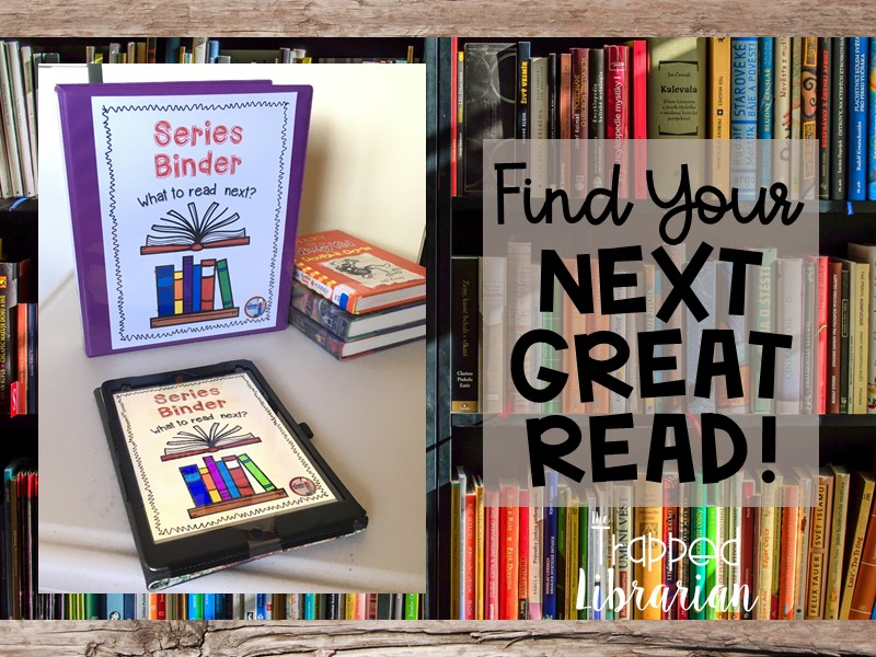 Help Your Students Find Book Series They Will Love!
