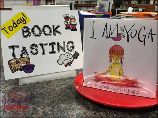 Book Tasting Event Sign