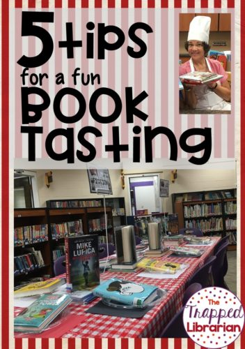 5 Tips for a Fun Book Tasting