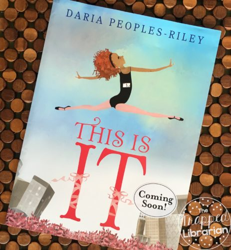 Cover of This is It by Daria Peoples-Riley with review by The Trapped Librarian