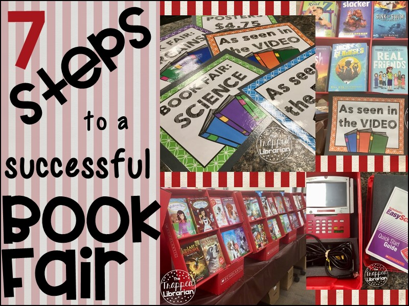 Trapp Book Fair Displays