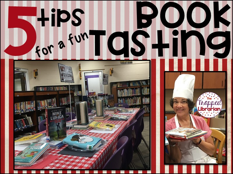 Book Tasting Event in Your Library