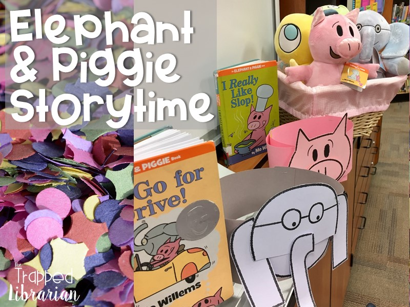 Have a Ball with Elephant and Piggie Story Time!