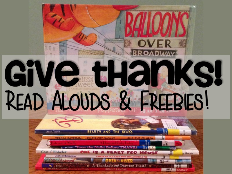 9 Fabulous Books for November + FREE Teaching Resources