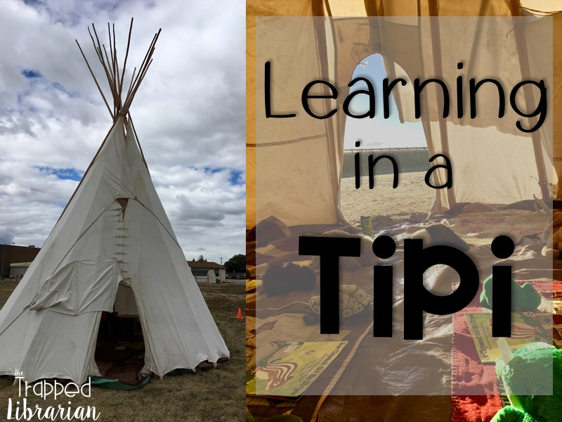 Teach in a Tipi for an Engaging Learning Experience!