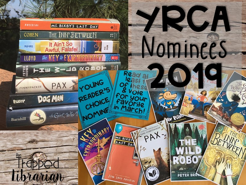 Engage Your Readers with the 2019 Young Reader's Choice Nominees (Junior Division)