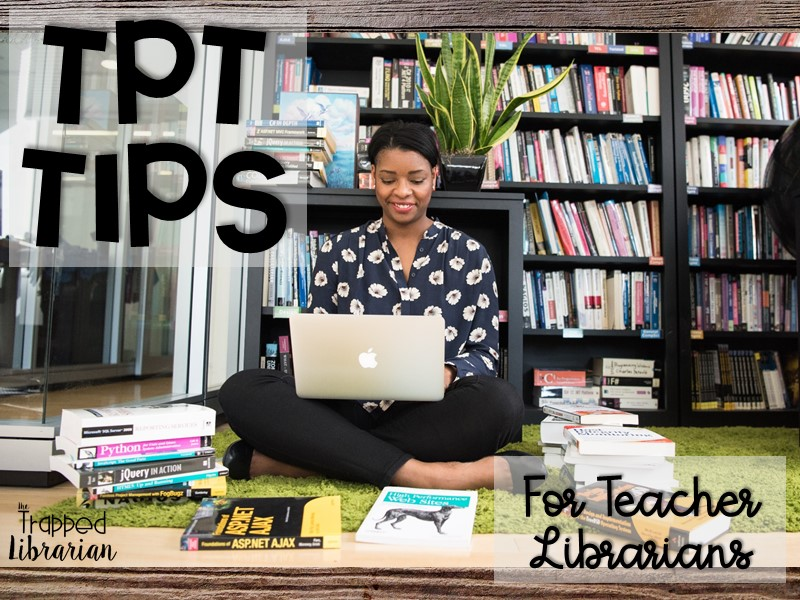 TPT Tips for School Librarians