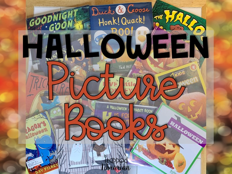 Halloween Picture Books The Trapped Librarian