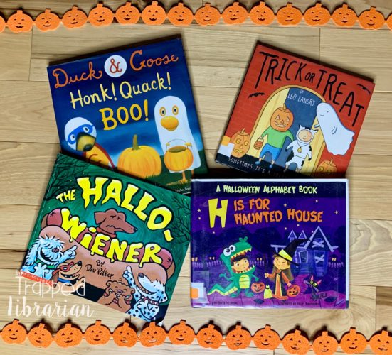 First Grade Halloween picture books
