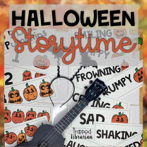 Halloween Storytime resources from The Trapped Librarian