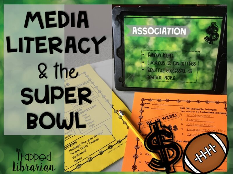 Trapped Media Literacy Super Bowl