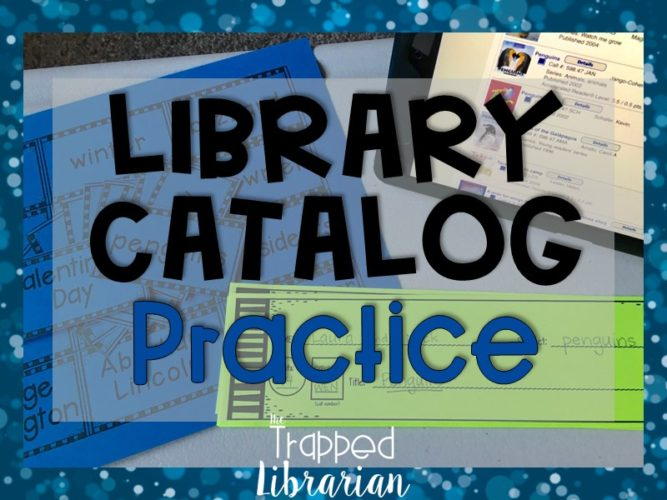 Library Catalog Instruction and Practice