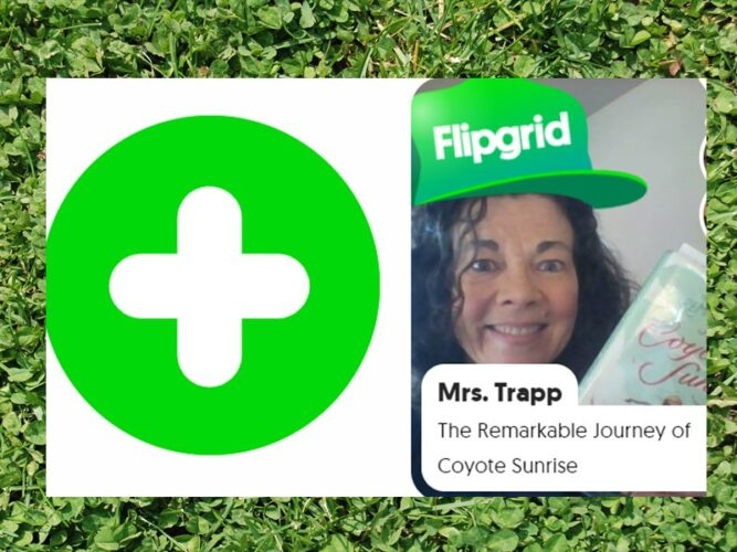 Flip Grid for library lessons for distance learning