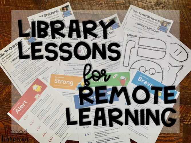 Library Lessons for Distance Learning