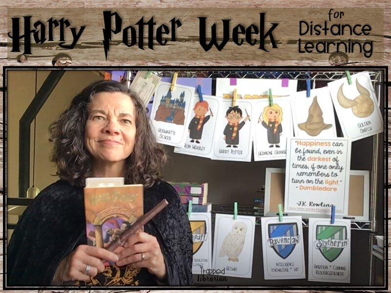 Harry Potter Week for Distance Learning Trapp