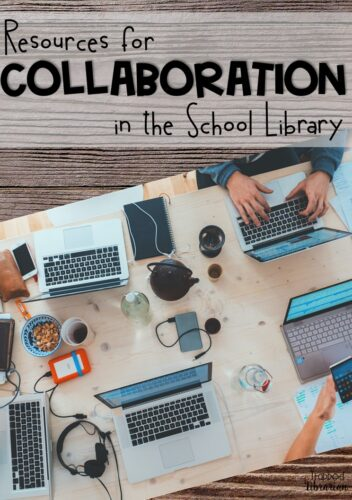 Are you a school librarian looking for collaboration ideas?  These resources will help you communicate with your teachers and administrators as you plan collaboration in your school library.  Read this blog post for links to articles, infographics, and information to help you plan new collaboration ideas now!  #thetrappedlibrarian #schoollibrary
