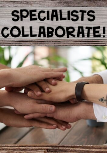 Take collaboration in the school library to a new level with school wide specialist collaborations!  Join your physical education, music, art, technology, and other colleagues to unite your school community in a common theme.  Read this blog post and start planning your engaging specialist collaboration today!  #thetrappedlibrarian #school library