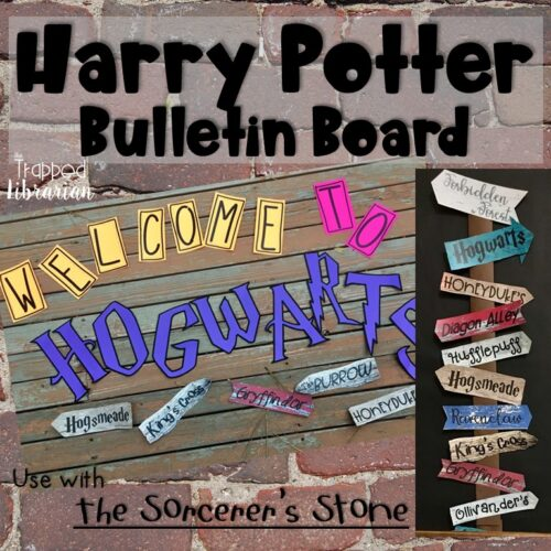 Harry Potter Bulletin Board and Activity Kit Trapp