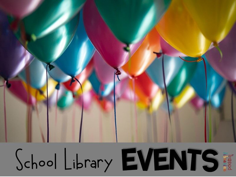 Trapped Librarian School Library Events