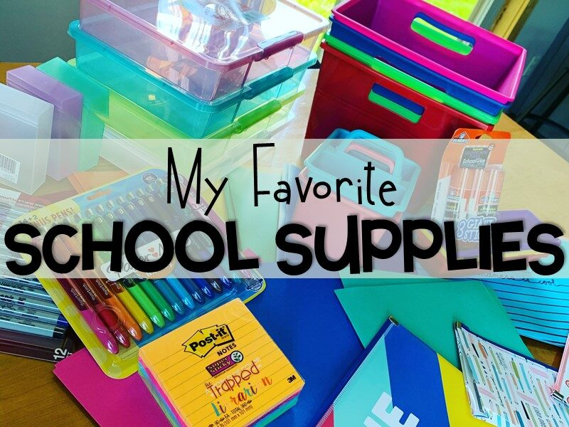 Back to School Supplies for Librarians