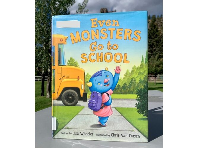 Even Monsters Go to School Back to School Books