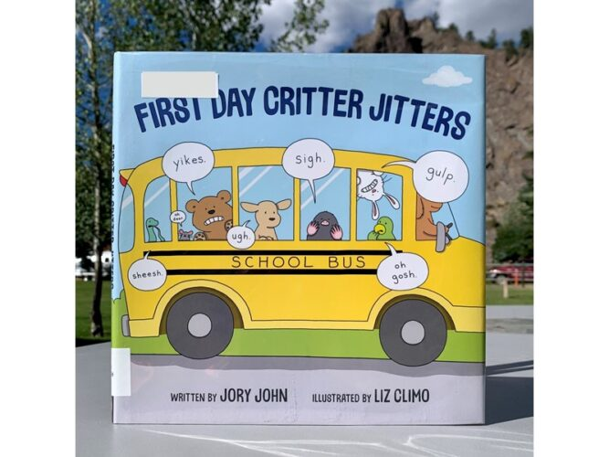 First Day Critter Jitters Back to School Books