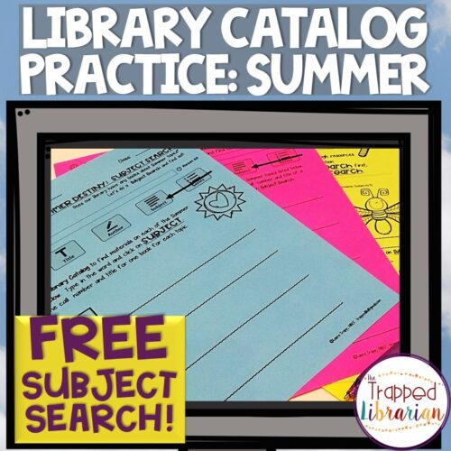 Free Library Catalog Subject Search