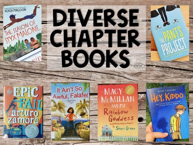 Diverse Chapter Books Reviews from The Trapped Librarian