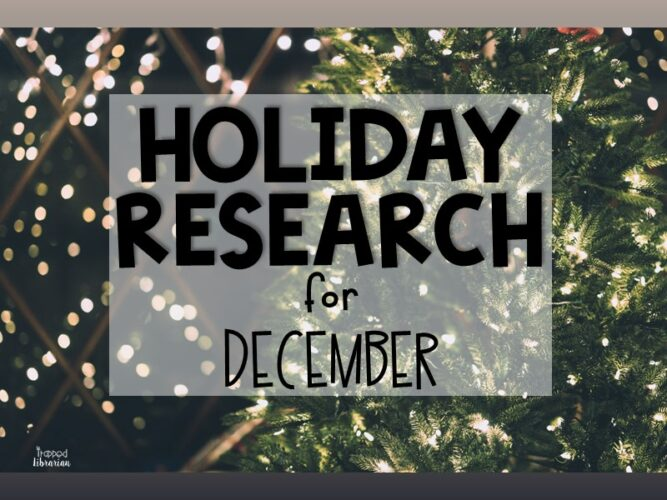 Holiday Research for December