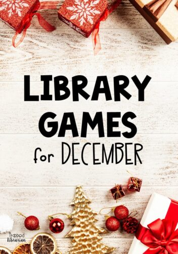 Are you looking for a way to make your December library lessons fun? This elementary library game can be played in person, for distance learning, or hybrid learning. Read all about this fun Christmas Picture Book Trivia Game and save your sanity while you keep the fun in your December library classes! #thetrappedlibrarian #decemberlibrary