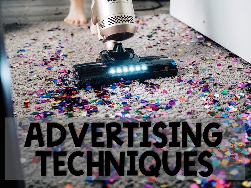 Teach About Advertising Techniques