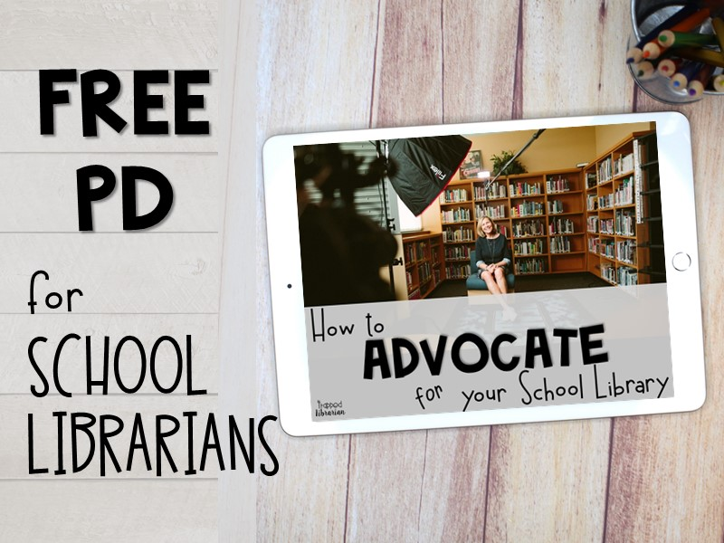 Free School Library Advocacy Professional Development