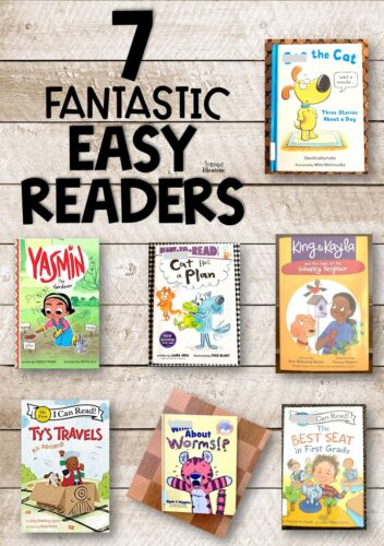 Fresh new easy reader books for your youngest learners!  These books were finalists for a 2020 Cybils Award.  If you're looking for easy readers for kindergarten or easy readers for first grade, read these short reviews.  You will find exciting new books for young children to add to your elementary library or classroom.  These are fun books that you our primary grade readers will love!