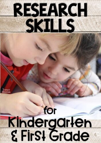 Teaching kids research skills in the primary grades can be daunting.  With the right approach, you can do kindergarten research projects and first grade research projects effortlessly in your elementary school library.  Whether you're looking for animal research projects or president research activities, your students will have fun with these tips for research skills activities for kids! #thetrappedlibrarian #elementarylibrary
