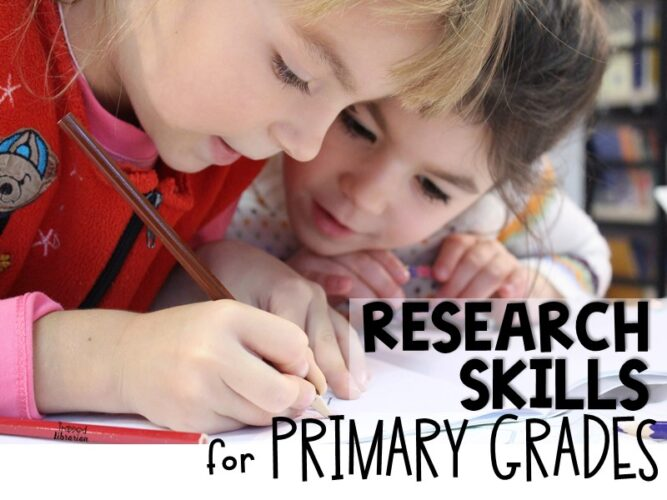 Research Skills for Kindergarten and First Grade