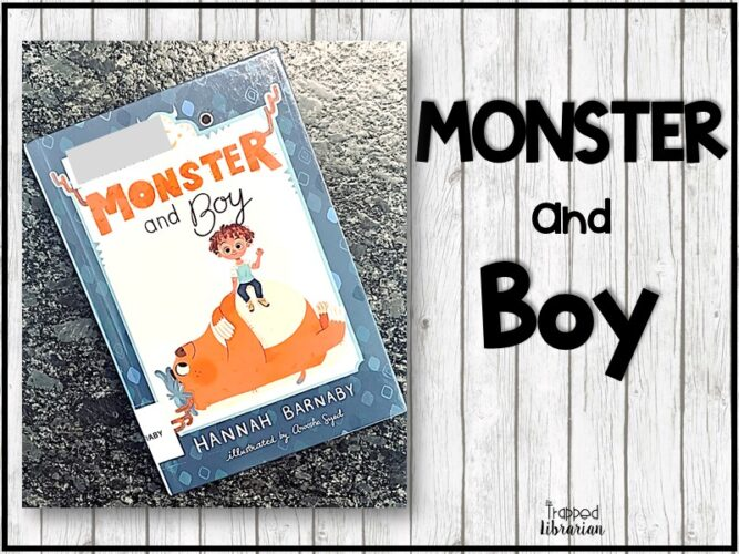 Monster and Boy Early Chapter Book