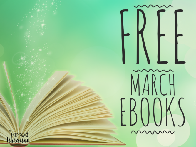 Free eBooks for March