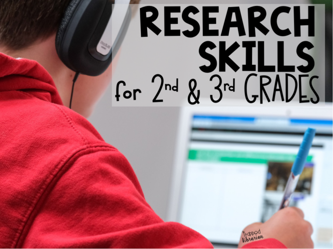 Research Skills for 2nd and 3rd Grades