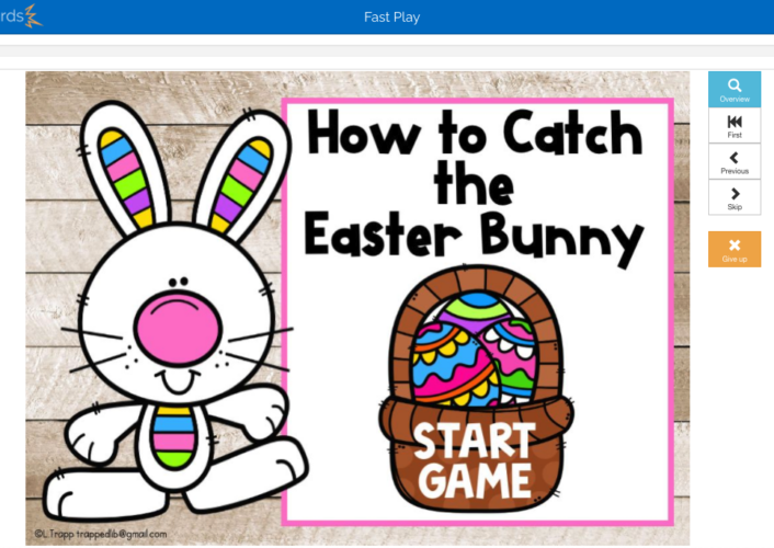 Easter Bunny Boom Cards