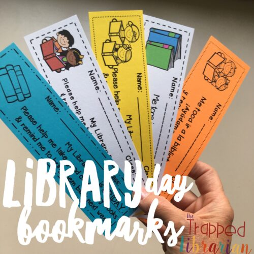 Get organized with Library Day Bookmarks