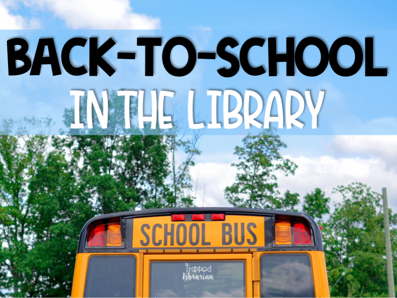 Get Organized for Back to School in the Library