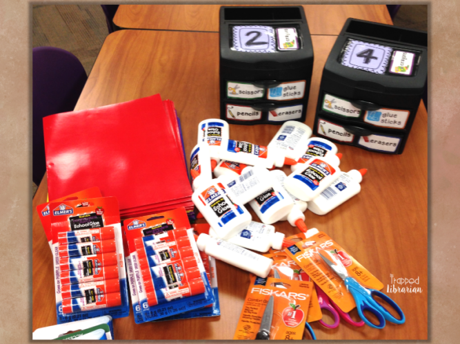 Get organized for back-to-school in the library