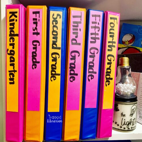 Get organized with grade level notebooks